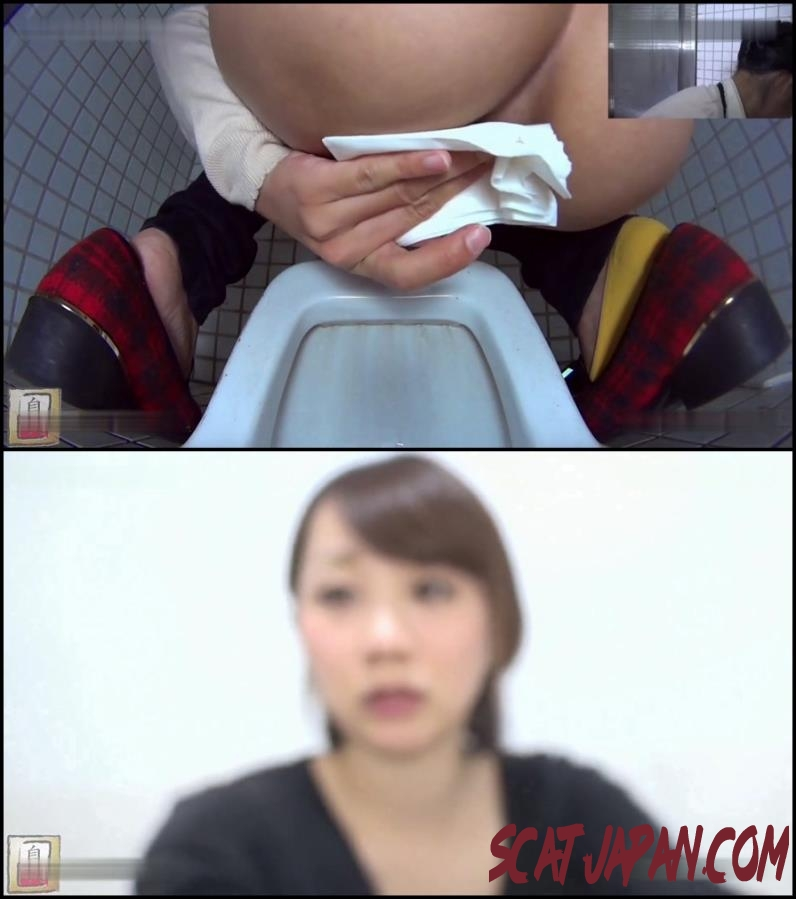 BFJG-59 Girls looking in the camera during a bowel movement in toilet (086.1712_BFJG-59) [2018 | 607 MB]