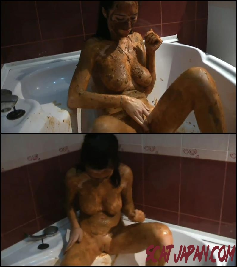 [Special #110] Russian girl covered feces masturbated in bath (200.0110_BFSpec-110) [2018 | 694 MB]