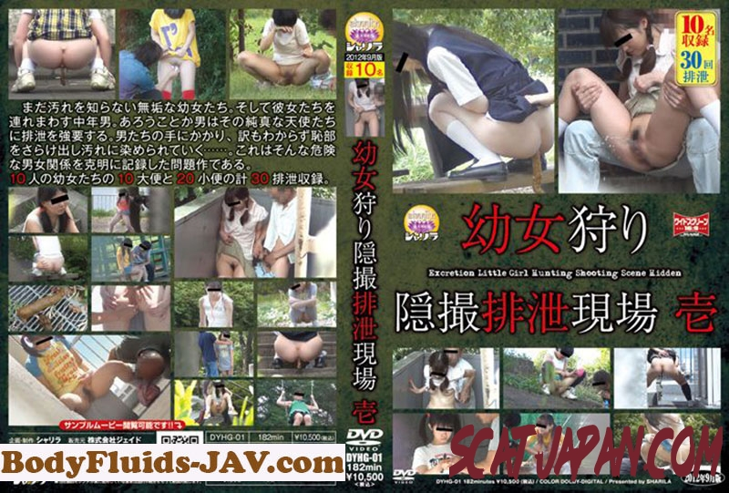 DYHG-01 Pissing 幼女狩り 隠撮排泄現場 1 シャリラ Outdoor Excretion (2.1433_DYHG-01) [2019 | 3.25 GB]