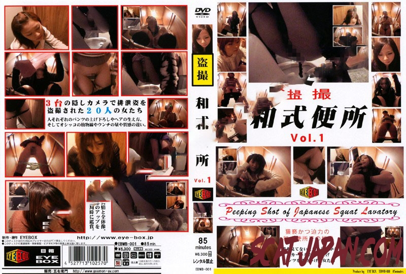 EBWB-01 スクワットトイレ盗撮 Defecation of a Japanese Woman in the Toilet (1.1712_EBWB-01) [2019 | 419 MB]