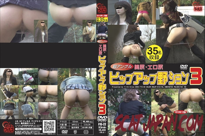 F15-22 Super Angle Beauty Outdoor Peeing 極度の角度の美の屋外の小便 (1.2847_F15-22) [2020 | 1.35 GB]
