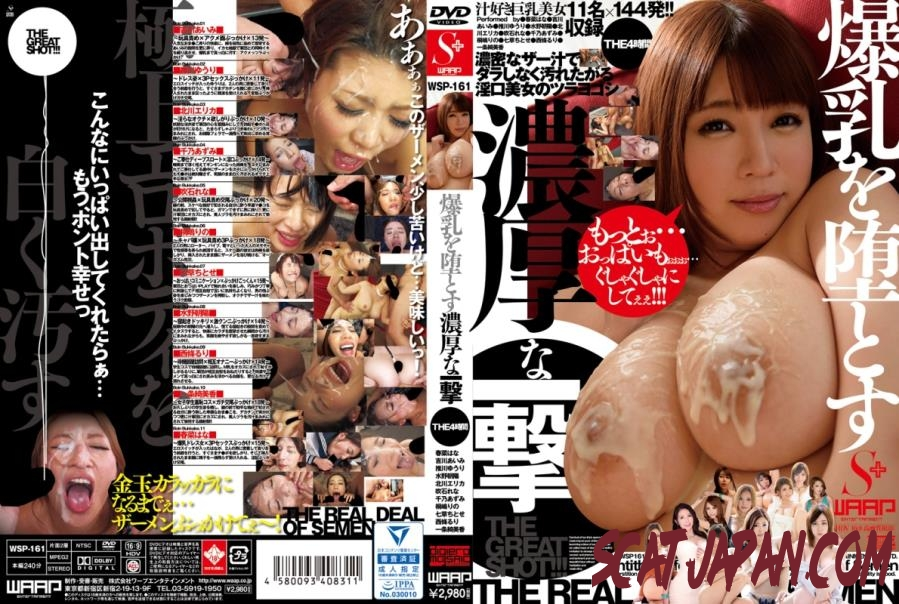 WSP-161 爆乳を堕とす濃厚な一撃 Blows to the Chest Girls (3.1752_WSP-161) [2019 | 2.46 GB]